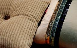 Almohadillas - adornamiento casero Foto de archivo libre de regalías