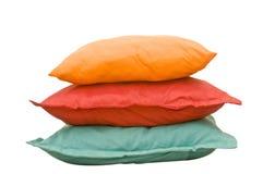 Almohadillas coloridas Imágenes de archivo libres de regalías