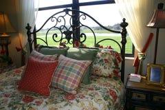 Almohadillas de cama Fotos de archivo