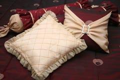 Almohadillas de lujo Fotografía de archivo libre de regalías
