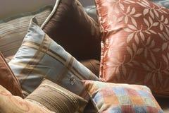 Almohadillas decorativas foto de archivo