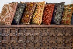 Almohadillas indias Imagen de archivo libre de regalías