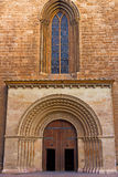 Almoina Gate of Valencia Cathedral, Spain. Royalty Free Stock Images