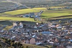 Almonacid de Toledo Foto de Stock