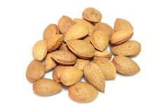 Almond. Close-up of almond nuts stock image