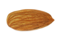 Almond. Isolated on white background Stock Images