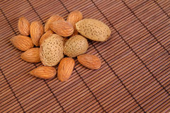 Almond background Royalty Free Stock Photo