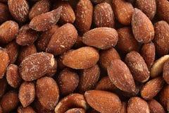 Almond background Stock Photos