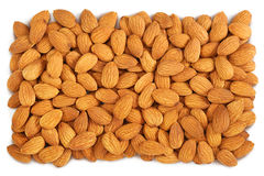 Almond background Stock Image