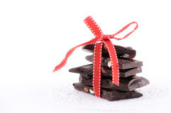 Almond bark Royalty Free Stock Image