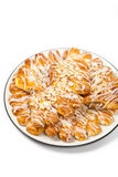Almond Bear Claws Pastry Royalty Free Stock Photo