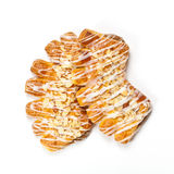 Almond Bear Claws Pastry Stock Image