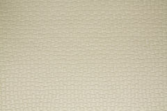 Artificial fabric texture Almond beige Stock Photography