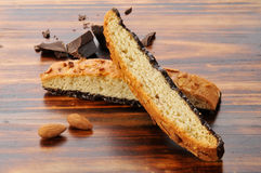 Almond Biscotti Stock Photo