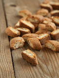 Almond biscotti Stock Photography