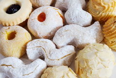 Almond biscuits Stock Image