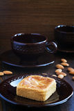 Almond biscuits Royalty Free Stock Photos