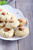 Almond biscuits Royalty Free Stock Image