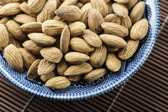 Almond Bowl Stock Image