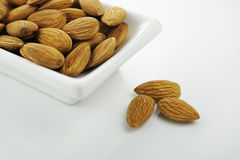 Almond Bowl Royalty Free Stock Photo