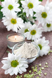 Almond bran Stock Image