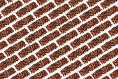 Almond Brittle Background Royalty Free Stock Photos