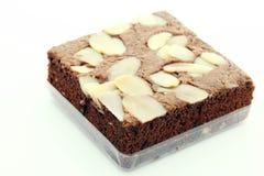 Almond Brownie Stock Photos