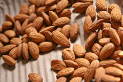 Almond. Bunch of Fresh Healthy Almond Stock Images