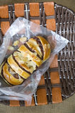 Almond buns Stock Image