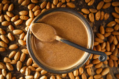 Almond Butter Royalty Free Stock Photos