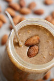 Almond Butter Royalty Free Stock Photography