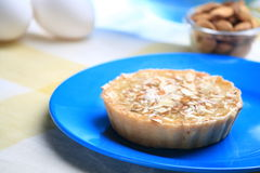 Almond cake Stock Photos