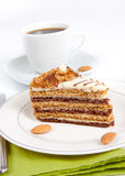 Almond cake Royalty Free Stock Photos