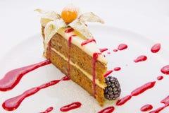 Almond cake Stock Photo