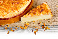 Almond cake Royalty Free Stock Images