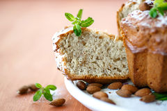 Almond cake Stock Image
