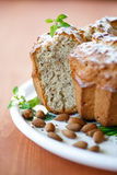 Almond cake Royalty Free Stock Image