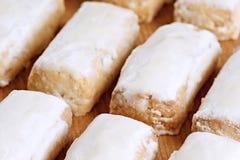 Almond cakes Stock Image