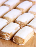 Almond cakes Royalty Free Stock Images