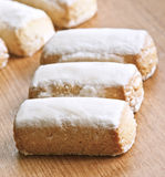 Almond cakes Stock Photo