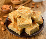 Almond cakes Stock Image