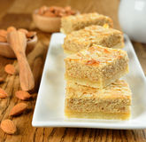 Almond cakes Stock Photos