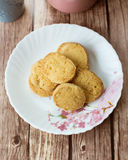 Almond Cheese Cookies Royalty Free Stock Image