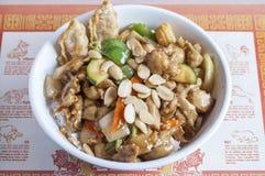 Almond chicken Stock Photos