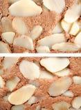 Almond chocolate cake Stock Photo