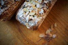 Almond chocolate croissant Royalty Free Stock Photos