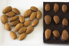 Almond Chocolate Stock Photos
