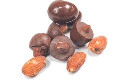 Almond chocolate Royalty Free Stock Photo