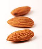 Almond with clipping path Royalty Free Stock Photos