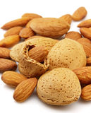 Almond closeup Royalty Free Stock Photography